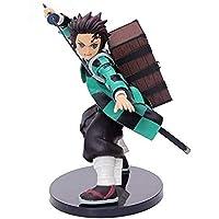 No Anime Figure Demon Slayer: Kimetsu Yaiba Action Figure Kamado Tanjirou 14cm