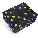 حقيبة سفر لتنظيم أدوات المكياج، حقائب أدوات الزينة ومستحضرات التجميل ومنظمات تخزين مستحضرات التجميل ذات طبقة مزدوجة، حقيبة مك