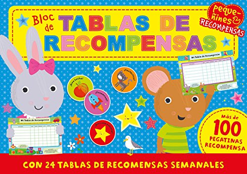 Pequeñines. Tablas de recompensas (TYNITOTS-REWARDCHARTPAD)