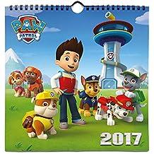 Grupo Erik Editores Paw Patrol - Calendario 2017, 24 x 24 cm