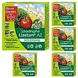 Oleanderhof Sparset: 5 x BAYER GARTEN Schädlingsfrei Lizetan AZ, 30 ml - der Calypso Nachfolger + gratis Oleanderhof Flyer