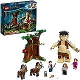 LEGO HarryPotter LaForestaProibita:l'IncontroconlaUmbridge, Playset da Costruire con il Gigante Grop e 2 figure di Cen