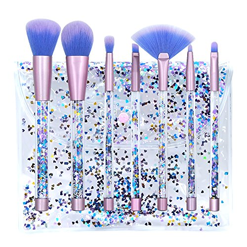 Make up Bürsten Kabuki Kosmetikpinsel Set 7 PCs Hautfreundlich Make up Pinsel Set Plus ein Geschenk BürsteHautfreundlich Make up Brush Set with Gift Brush