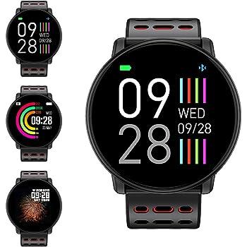 Reloj Inteligente, LIFEBEE Smartwatch Hombre Mujer Pulsera Actividad Inteligente Impermeable 1.3 Pulgadas Pantalla Color Pulsera Podómetro con Pulsómetro, ...