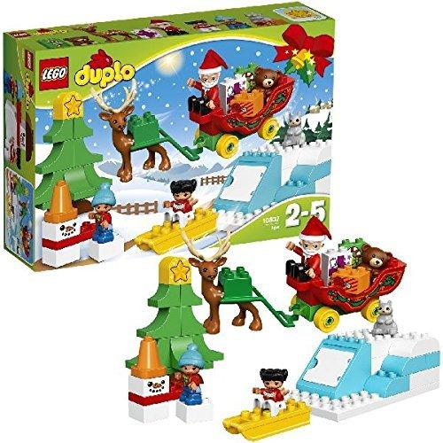 LEGO DUPLO Town - Trineo de Papá Noel (10837)