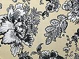 Floral Print Viskose Challis Kleid Stoff