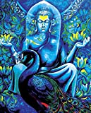 Faim Paintings Canvas Print Of Religious Art Budha Peace - Frameless, 18x24 Inch best price on Amazon @ Rs. 599