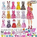 Beito Accessori Barbie, Accessori Abito per Barbie Dolls, 10pcs Vestiti Gonne...