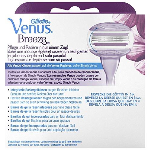 Gillette for Women Venus Breeze SPA Rasierklingen 8 Stück