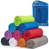 Cooling Towel für Sport & Fitness – Mikrofaser Handtuch/Kühltuch als kühlendes Handtuch für Laufen, Trekking, Reise & Yoga – Cooling Towel