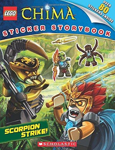 Scorpion Strike! Sticker Storybook (Lego Legends of Chima)