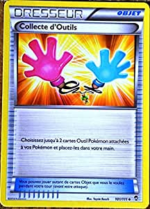 carte Pokémon 101/111 Collecte d'Outils XY03 XY Poings Furieux NEUF FR