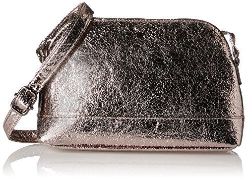 Metallic Pu-geldbeutel-handtasche (TOM TAILOR Acc Damen Jil Henkeltasche, Silber (Altsilber), 7x16x25 cm)
