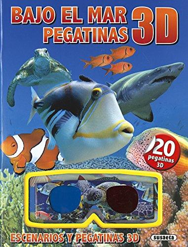 Bajo el mar pegatinas 3D por Susaeta Edicones S A