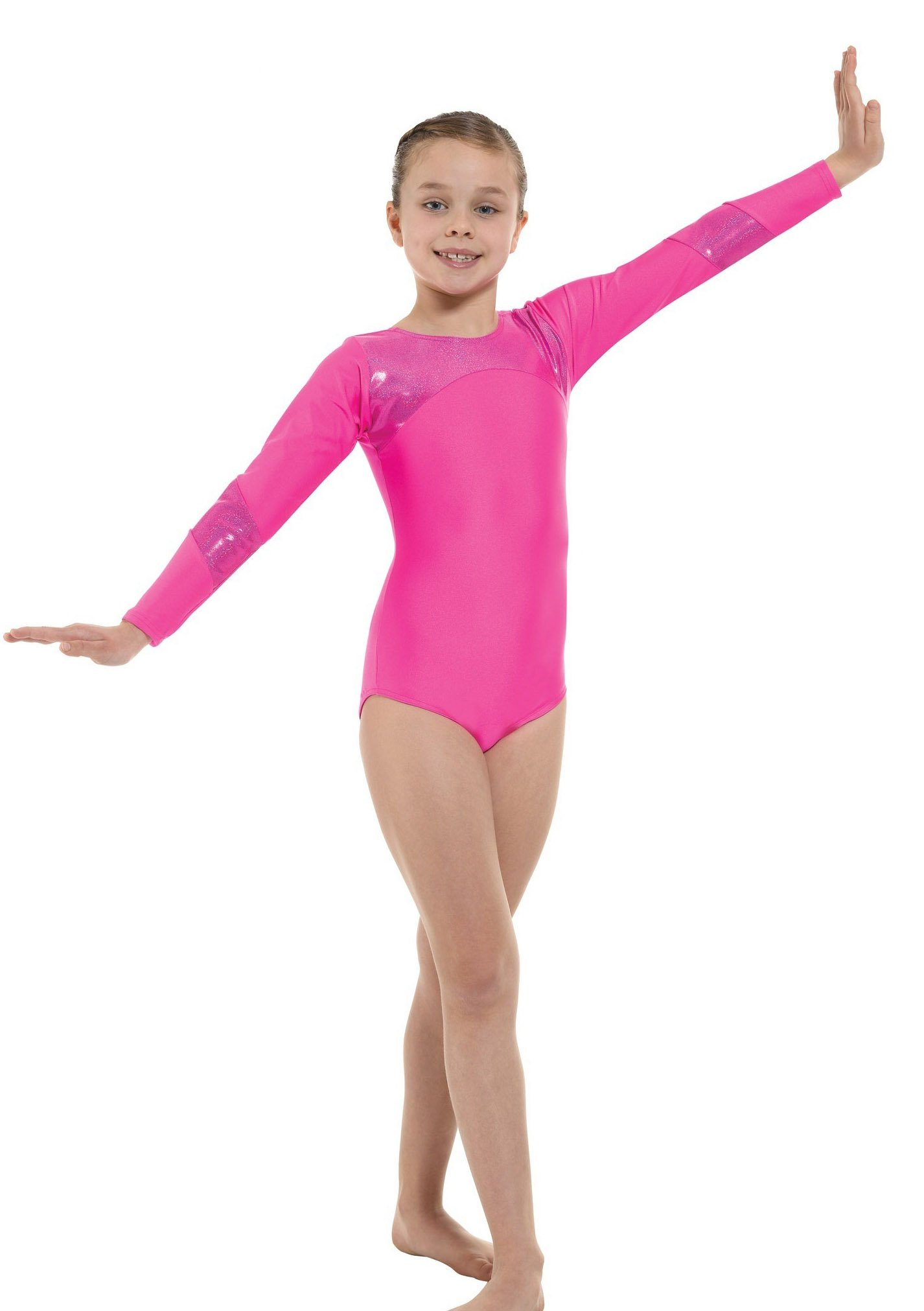 Tappers & Pointers Long Sleeved Shiny Leotard GYM9