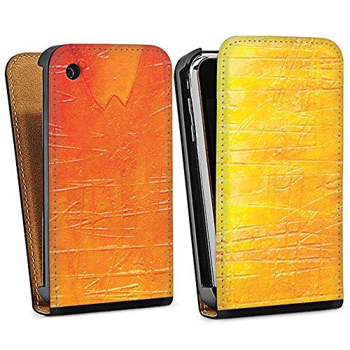 Apple iPhone 5s Housse Étui Protection Coque Egratignure Structure Peinture Sac Downflip noir