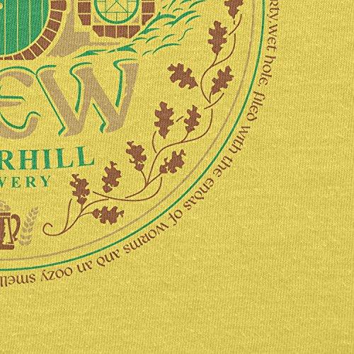 TEXLAB - Bäg End Brew - Herren T-Shirt Gelb