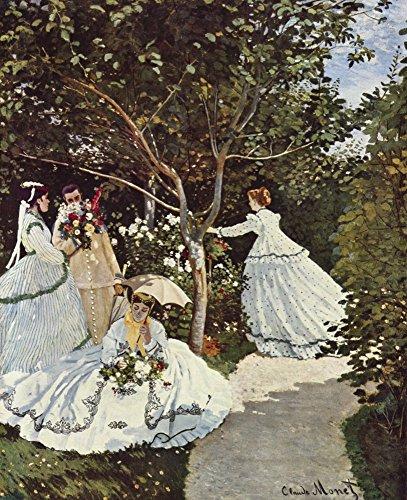 Das Museum Outlet–Frauen im Garten von Monet–Poster Print Online kaufen (152,4x 203,2cm)