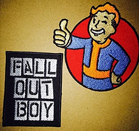 FOB Fall Out Boy Heavy Metall Rock n Roll Punk Band Logo Musik Patch Sew Iron on gesticktes Badge Schild Kostüm