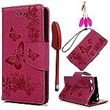 YOKIRIN Case Cover Lederhülle für Sony Xperia XZ1 Compact (4.6