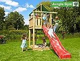 JUNGLE GYM Spielturm Jungle LODGE mit Rutschstange, Gesamtmaße (B/T/H): 160/410/290 cm