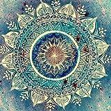 Gemini Mall® DIY 5d Diamant Gemälde komplett-Set, Mandala-Blume Strass pasted Stickerei Malen nach Zahlen Kreuzstich-Home Wand-Dekor #8