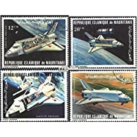 Mauritania 715-718 (complete.issue.) 1981 Space Shuttle Space Shuttle (Stamps for collectors) Space