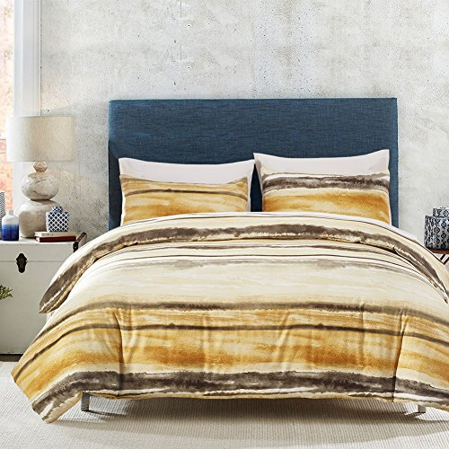DMMASH Bettwäsche Duvet Dreiteilige Tencel Bettbezug Kissenbezug Drei Sätze von Super Soft (Bettbezug + Kissen Shams),King (Kissen Sham-bett-satz)