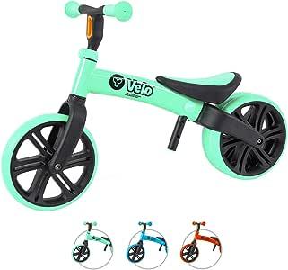 Yvolution Y Velo Vélo enfant enfant | Vélo d'équilibre sans pédale | À partir de 18 mois à 4 ans | Y Velo Flippa 4-en-1 Vélo d'équilibre | 2-5 ans