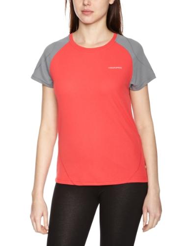 Craghoppers Damen T-Shirt Base blush red