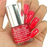 DeBelle Gel Nail Lacquer French Affair - 8 ml (Scarlet Red Nail Polish)