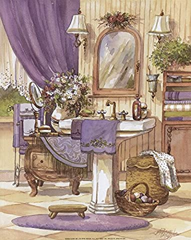 Victorian Bathroom II by Jerianne Van Dijk Art Print, 11