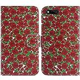 TienJueShi Rose Blume Flip Book-Style Brief Leder Tasche Schutz Hulle Handy Case Abdeckung Fall Wallet Cover Etui Skin Fur RAZER PHONE RZ35-0215 5.7 inch