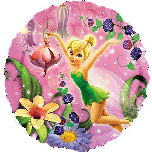 Ballon Folienballon - Disney Tinkerbell Fee Mädchen - Geburtstag Kindergeburtstag Deko - mit Helium gefüllt ()