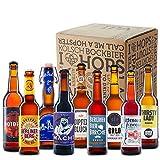 Deutsches Craft Beer - Kennenlern Box (inkl. Tasting-Cards mit Verkostungsnotizen zu jedem Bier & Verkostungsanleitung)