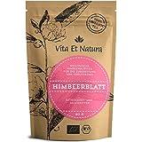 Vita Et Natura BIO Himbeerblättertee - 60g Himbeerblätter naturrein und schonend getrocknet - Anwendungsreich, z.B. zur Geburtsvorbereitung