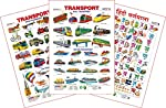 Spectrum Set of 3 Educational Wall Charts consists of 3 Educational Wall Charts of different topics. -1st learning chart for the young ones. -Learn through look & learn process. -It is helpful for the kids to learn through looking at colourful pi...