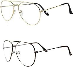 Xforia Fancy Boys Plain Aviator & Wayfarer Sunglasses For Men & Women 2 (PL-FLX-239   54 MM   Latest)