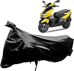 Autoridez Bike Cover for Tvs Ntorq 125 Black