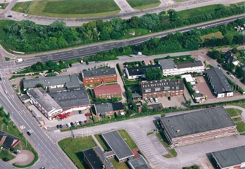 MF Matthias Friedel - Luftbildfotografie Luftbild von Bahnweg in Sylt (Nordfriesland), aufgenommen am 30.05.03 um 16:19 Uhr, Bildnummer: 2355-06, Auflösung: 3000x2000px = 6MP - Fotoabzug 50x75cm