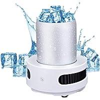 Machine à glaçons portative Petites Machines à glaçons Comptoir Mini Machine à glaçons Réfrigération Intelligente…