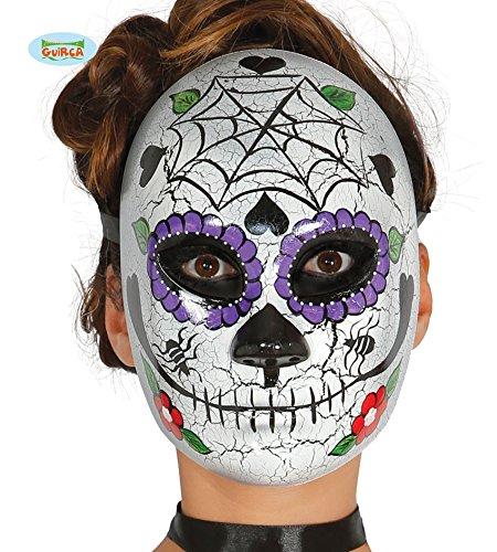 (Guirca Fiestas GUI2555 - Maske Tag der Toten, Mann)
