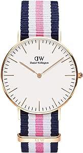 Daniel Wellington Damen-Armbanduhr Southampton Analog Quarz Nylon DW00100034