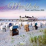 Meerblicke - Nord- und Ostsee 2020: Broschürenkalender mit Ferienterminen. Format: 30 x 30 cm