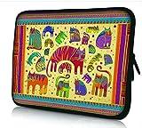 Luxburg® Design Laptoptasche Notebooktasche Sleeve für 17,3 Zoll (auch in 10,2 Zoll   12,1 Zoll   13,3 Zoll   14,2 Zoll   15,6 Zoll   17,3 Zoll) , Motiv: Katzen