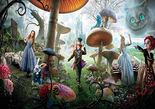 My Little Poster Plakat Tim Burton Alice im Wunderland Alice in Wonderland Wand-Kunst (Alice Im Wunderland Poster)