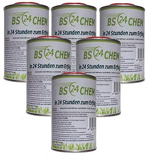 BS24CHEM ® 6 Kg Karbid für viele Anwendungen geeignet. Sehr hohe Wirkungsdauer EU als Marke eingetragen und zugelassen. 4260533465271