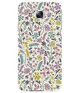 Astrode Printed Designer Back Case Cover For Samsung Galaxy E5