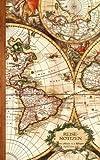 Reisenotizen: Geschenke / Kleine Reisetagebuch / Notizbuch [ Antiken Karte * 12,7 x 20,3 cm * Taschenbuch ] (Weltreisen)