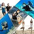 Ruiying Chaussures de Sport Aquatique Unisex pour Tous Les Adultes OU Les Enfants Adapté à la Natation, la Plongée Et Le Yoga dans la Plage, Le Gymnase Et la Piscine